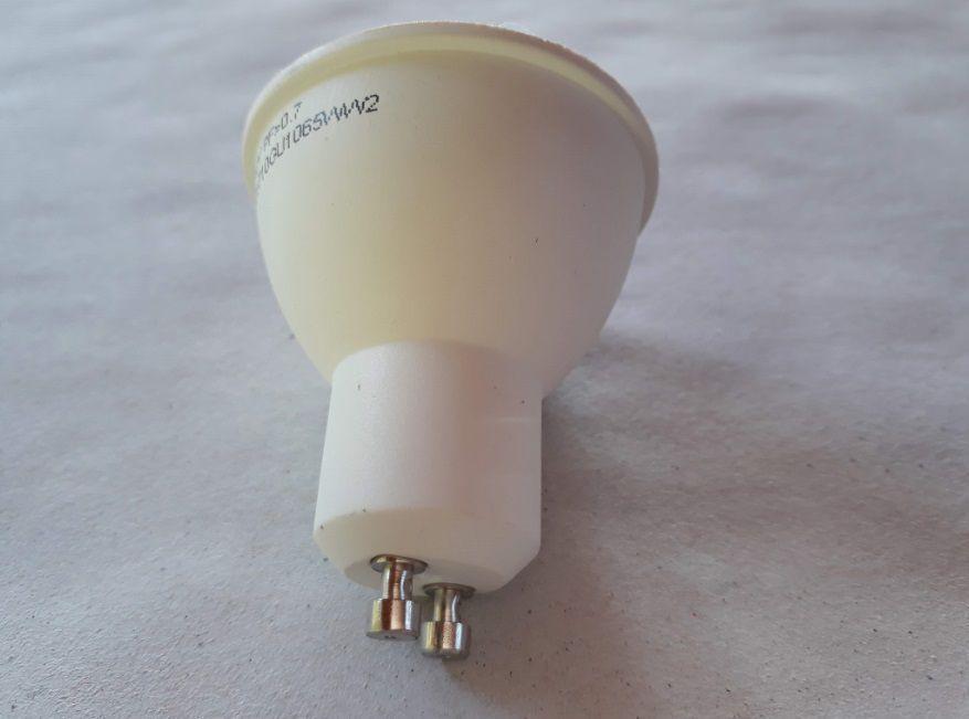 Lampada LED 7w 3000k Dicroica GU10 525LM Bivolt Branco Quente LP029C