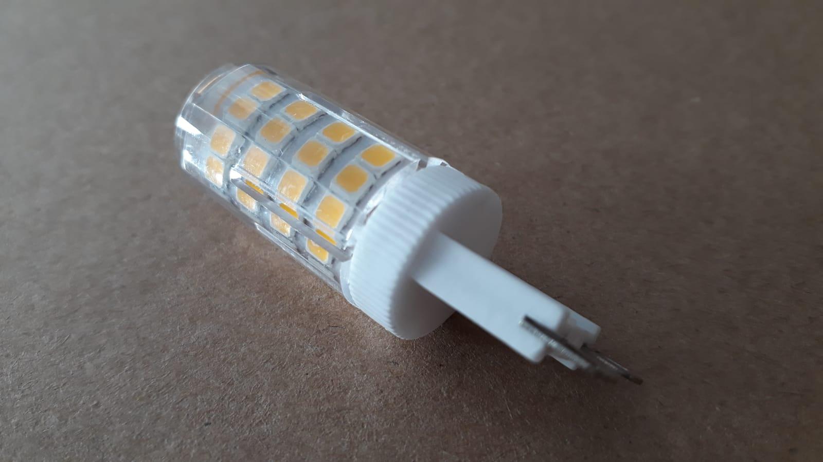 Lampada LED G9 5w 3000k Bivolt Bipino Halopin Branco Quente Encapsulada  - OUTLED ILUMINAÇÃO