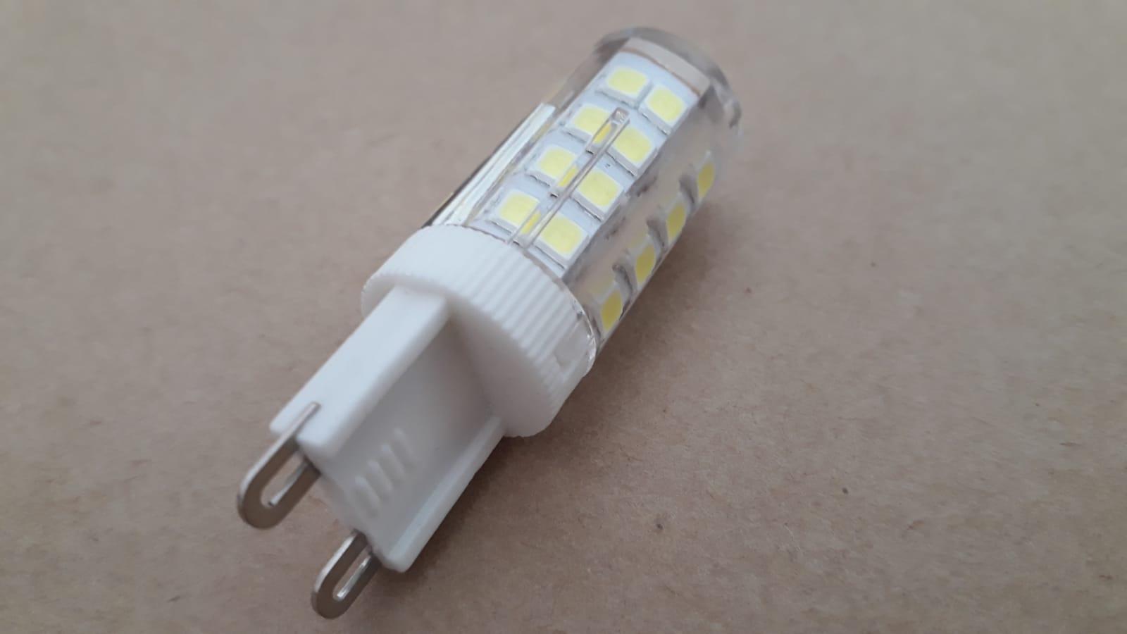 Lampada LED G9 5w 6000k Bivolt Bipino Halopin Branco Frio Encapsulada  - OUTLED ILUMINAÇÃO