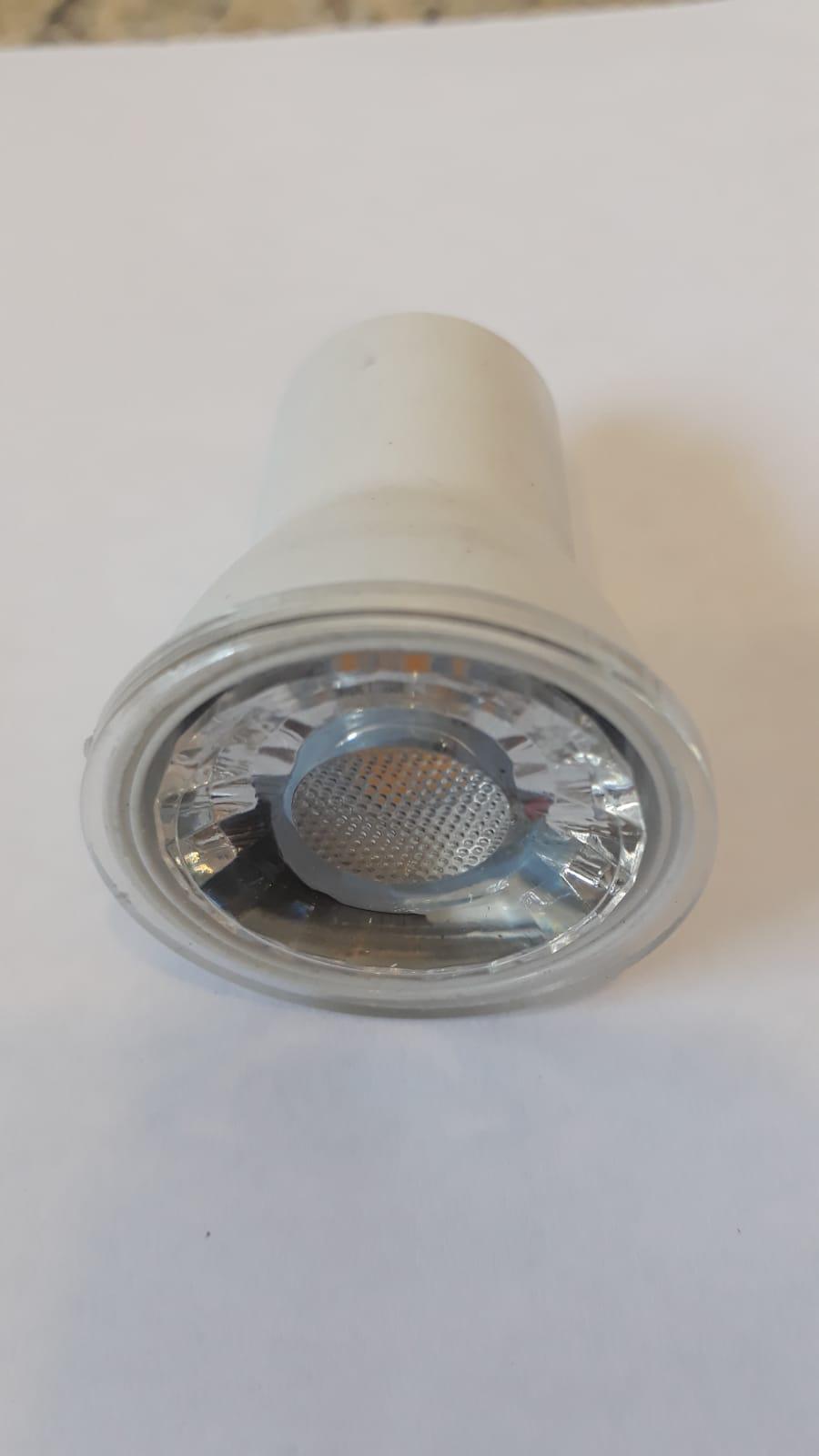 Lampada Led MINI DICROICA 3w 3000k Mr11 Gu10 Branco Quente