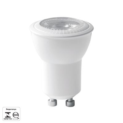 LAMPADA LED MINI DICROICA 4W MR11 GU10 250LM 3000K RA>80 38° DIMER BIV LP215C