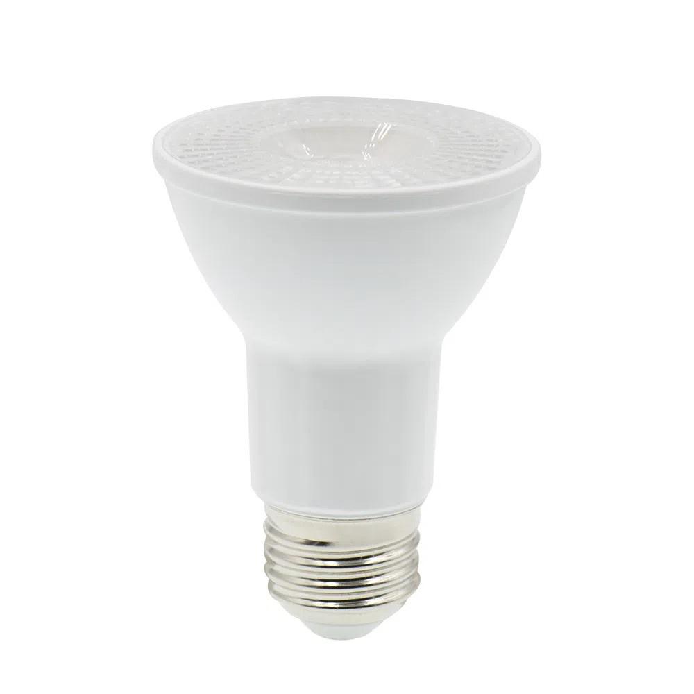 LAMPADA LED PAR20 8W LED 3000k BRANCO QUENTE E27 525LM 38° LP201C LEDPRO