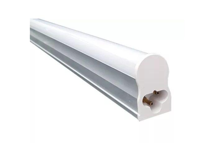 Luminaria 10w 3000k LED T5 60cm Calha Fluorescente Branco Quente  - OUTLED ILUMINAÇÃO
