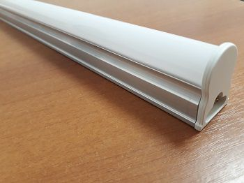 Luminaria LED  20w 3000k T5 120cm Calha Fluorescente Branco Quente  - OUTLED ILUMINAÇÃO