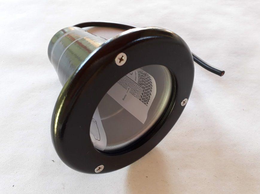 Luminaria 5w 3000k LED Embutido Solo GU10 LS208PT Maxluz  - OUTLED ILUMINAÇÃO