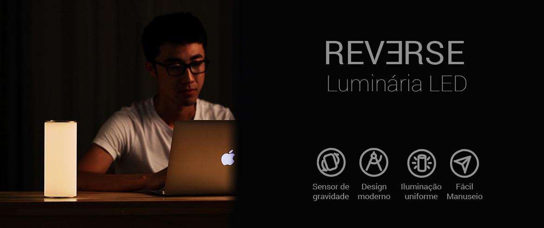 LUMINARIA DE MESA REVERSE 2,5w LED 2700K - 5000K MULTICOLOR HM 30463