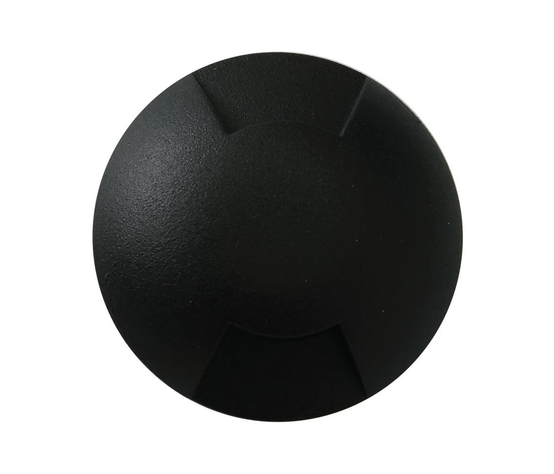 Luminária Embutir Piso Solo 0.75w 2700k Branco Quente Balizador Trace 2x Bivolt Pro 33532