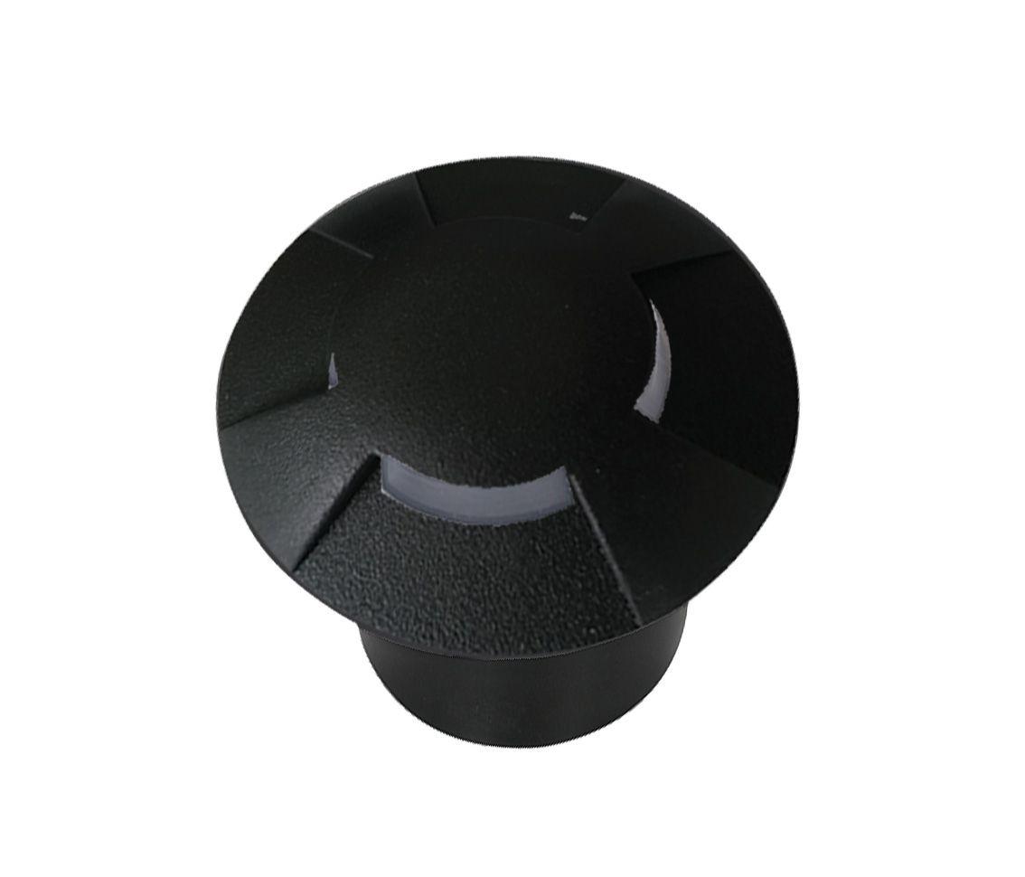 Luminária Embutida Balizador Solo 0.75w 2700k Branco Quente Trace 4x Bivolt Pro 33549