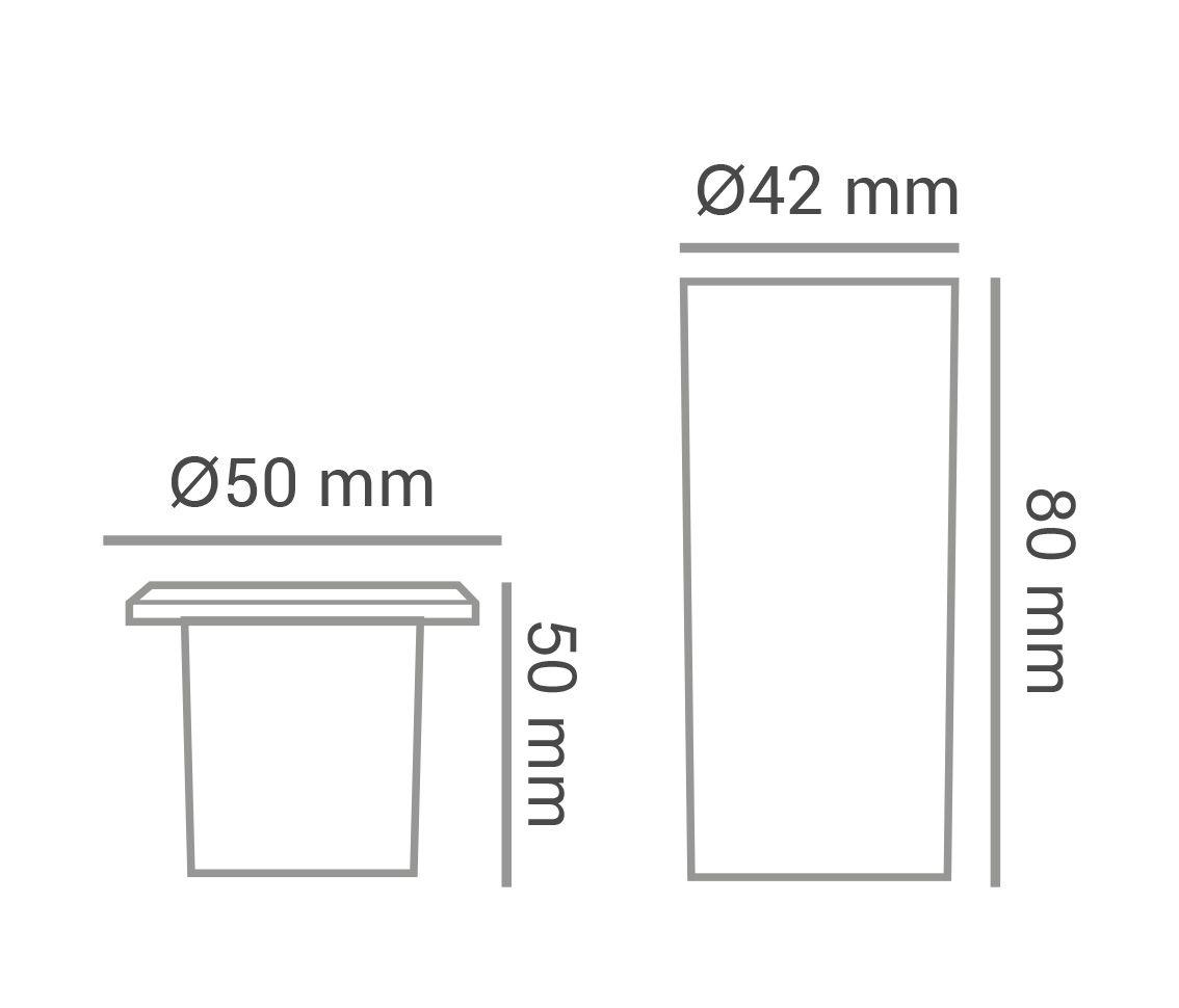 Luminária Embutir Solo Piso 0.85w 2700k Branco Quente Mini Preto Pro 33563