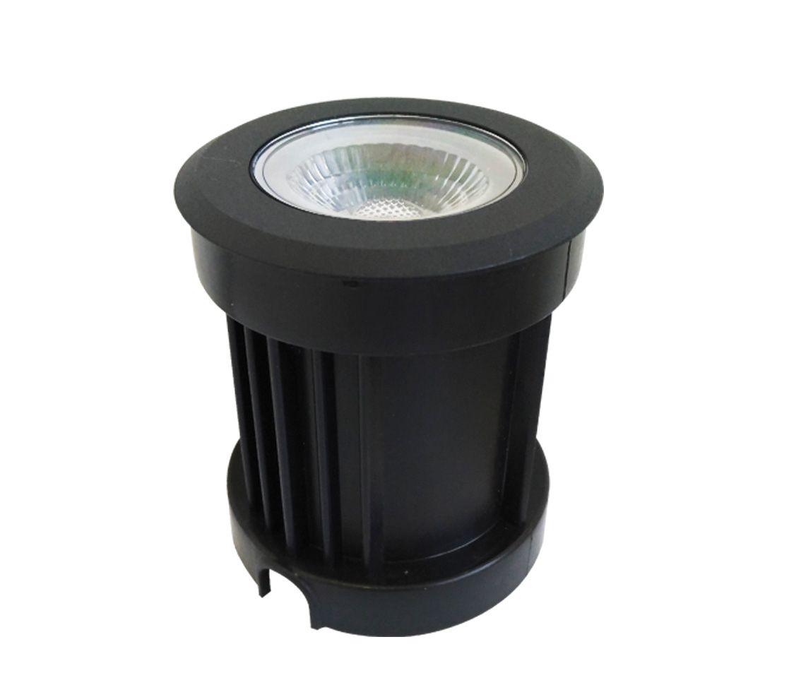 Luminária Balizador Embutida de Solo 10w 3000k Branco Quente Bivolt Pro 33600