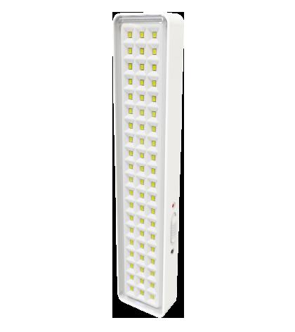 Luminaria LED 60 Emergencia Bivolt Branco Frio 6000k PRO 35956  - OUTLED ILUMINAÇÃO