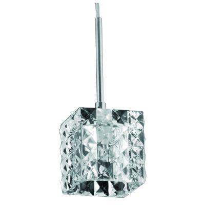 Lustre G9 Pendente 10cm Prism Cromado HU2149P  - OUTLED ILUMINAÇÃO