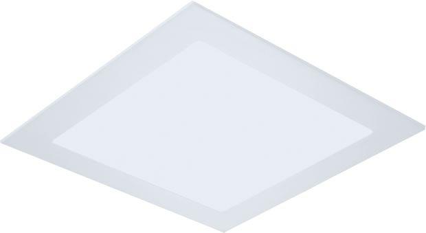 PAINEL LED 12W 3000K EMBUTIDO SLIM QUADRADO LE-4601  - OUTLED ILUMINAÇÃO