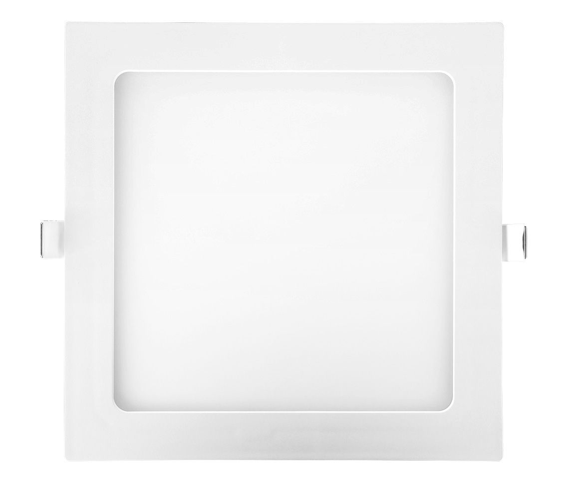 Painel Led 18w 3000k Branco Quente Embutir Quadrado Bivolt Eco 32511