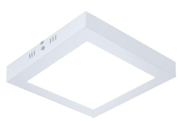 PAINEL LED 18W 3000K SOBREPOR SLIM QUADRADO LE-4633