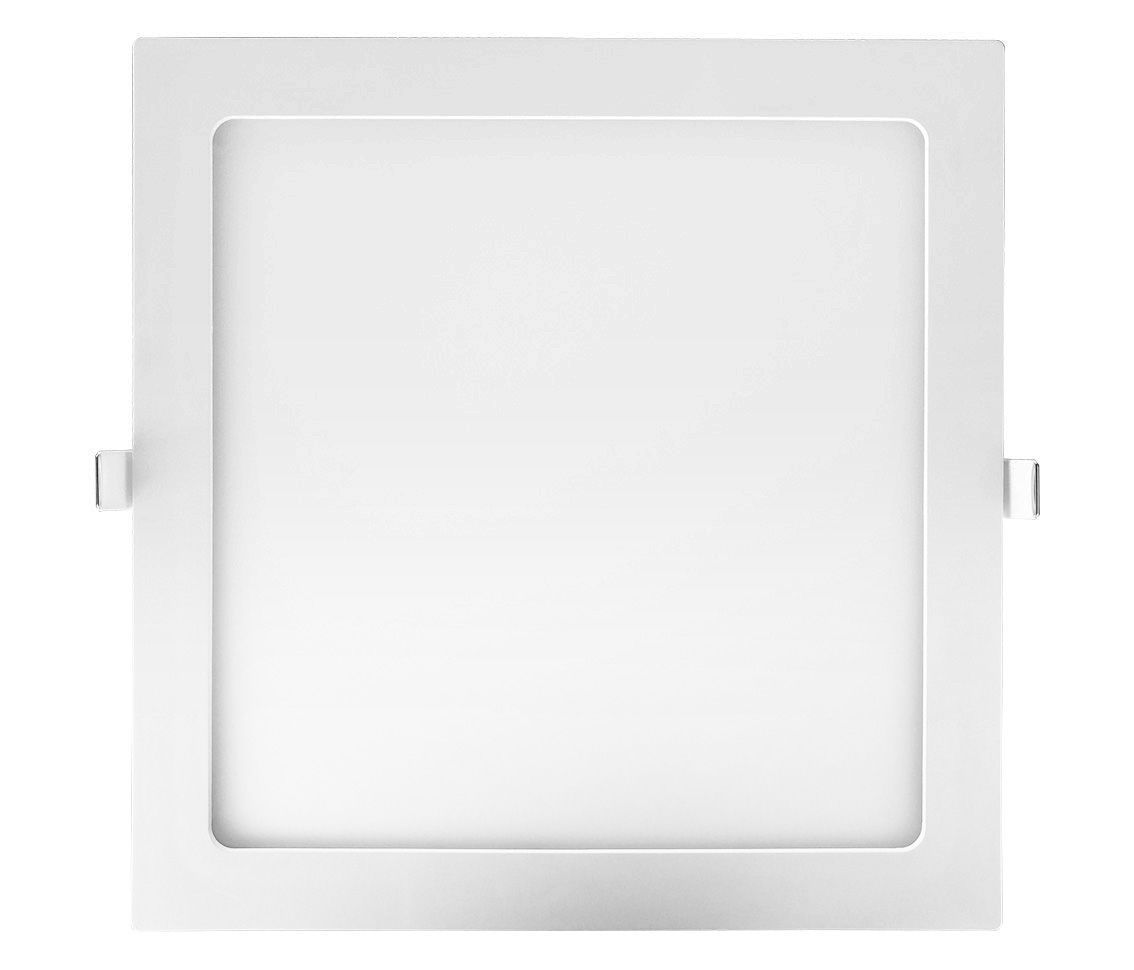 Painel Embutir Quadrado 24w LED 4000k Branco Morno 29x29cm ECO 30159