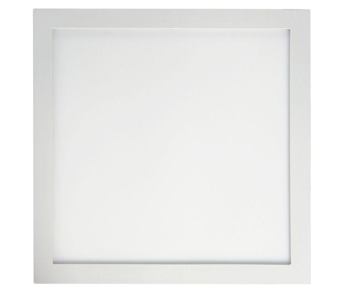 Painel Led 30w 3000k Branco Quente Sobrepor Quadrado Bivolt Eco 32597