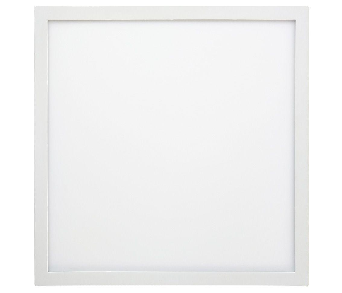 Painel Led 48w 3000k Branco Quente Sobrepor Quadrado Bivolt Eco 30920