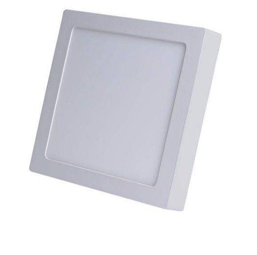 Plafon LED 18w 6000k Painel Sobrepor Quadrado Bivolt Branco Frio  - OUTLED ILUMINAÇÃO