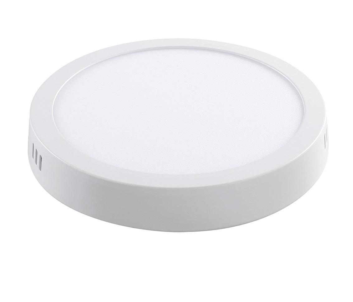 Painel Sobrepor Redondo 24w LED 3000k Branco Quente Ø28.5cm ECO 35239
