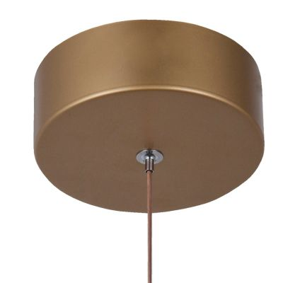 Pendente Poti 20cm X 22cm 1 X Led 5w French Gold/Tr - Bb005G