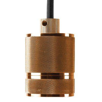 Pendente E27 Socket Retro Soquete Cobre Bronze DA002A  - OUTLED ILUMINAÇÃO