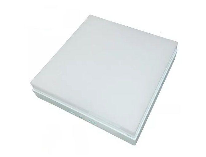 Plafon LED 36w 6000k Painel Acrílico Sobrepor Quadrado Branco Frio  - OUTLED ILUMINAÇÃO