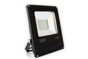 Refletor 30W Verde LED Holofote Bivolt  - OUTLED ILUMINAÇÃO