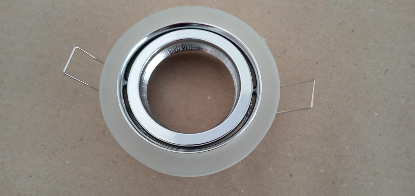 Spot Dicroica GU10 Embutir Fosco YD133F