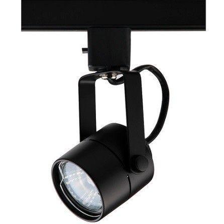 Spot Dicroica GU10 Trilho Eletrificado DL032P Preto  - OUTLED ILUMINAÇÃO