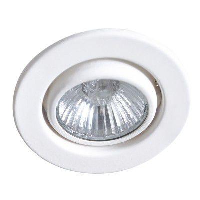 Spot AR111 Embutir Bella Redondo POP DL066 Branco  - OUTLED ILUMINAÇÃO