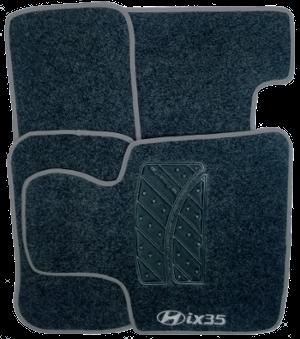 Tapete de Carpete Hyundai IX35  - Só Frisos Ltda