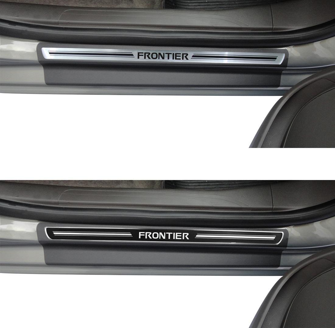 Soleira de Porta Premium Nissan Frontier  - Só Frisos Ltda