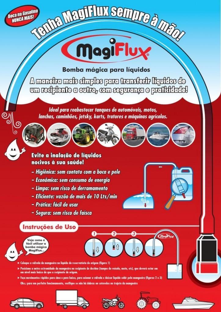Mangueira MAGIFLUX Transferência de Combustível  - Só Frisos Ltda