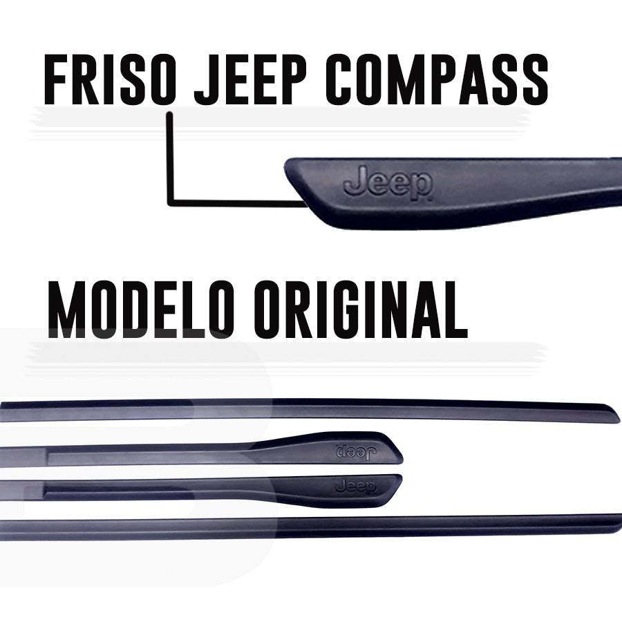 Friso Lateral Compass 15 16 17 18 19 20 Modelo Original  - Só Frisos Ltda