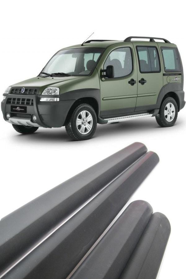 Friso Lateral Fiat Doblo 2001 até 2010  - Só Frisos Ltda