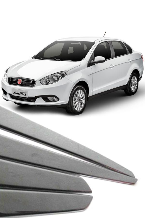 Friso Lateral Fiat Grand Siena Cromado  - Só Frisos Ltda