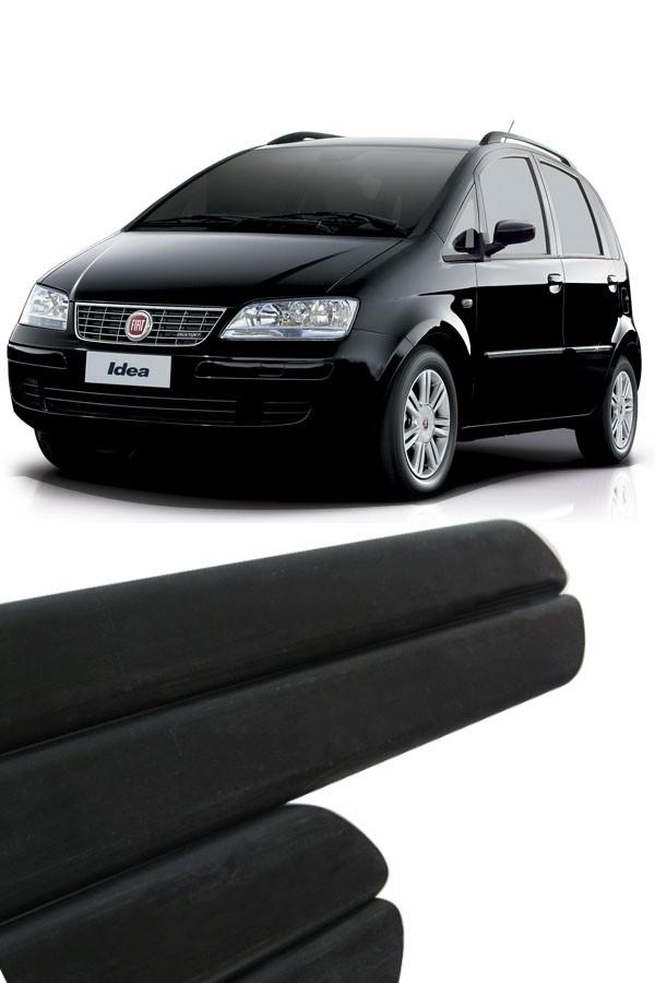 Friso Lateral Fiat Idea 2003 até 2009  - Só Frisos Ltda