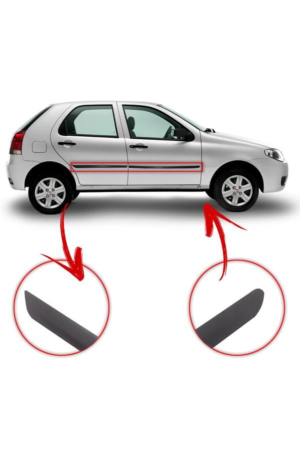 Friso Lateral Fiat Palio 2004 até 2017 4p  - Só Frisos Ltda