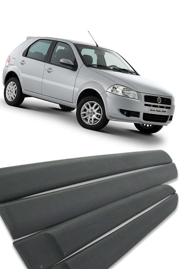 Friso Lateral Fiat Palio 2008 até 2011  - Só Frisos Ltda