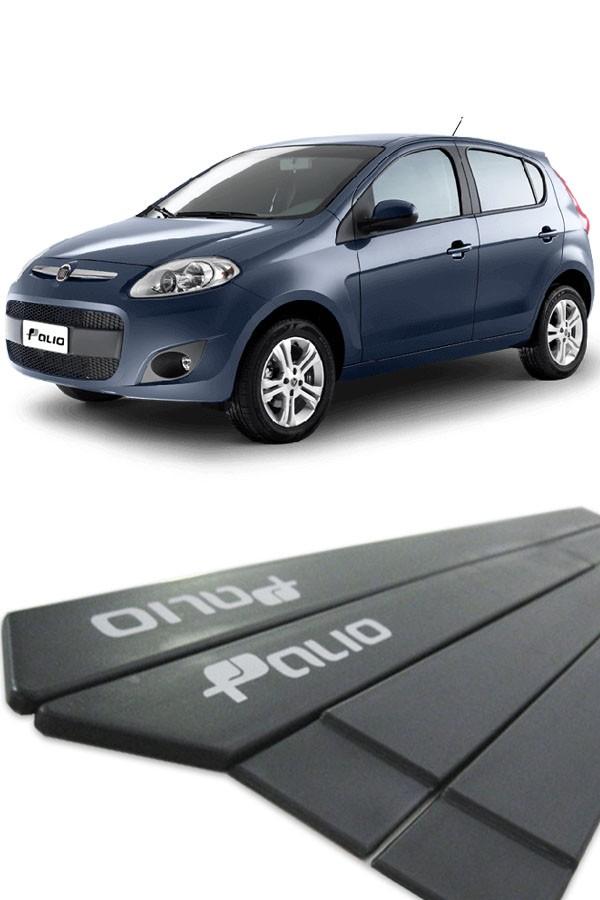 Friso Lateral Fiat Palio 2012 até 2017 (C/ Grafia)  - Só Frisos Ltda
