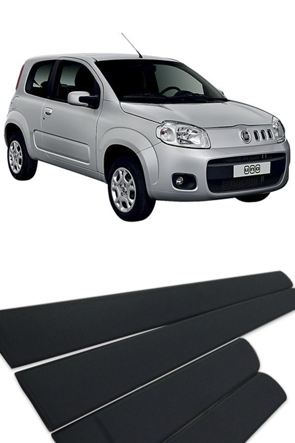 Friso Lateral Fiat Uno 2011 até 2017 4p