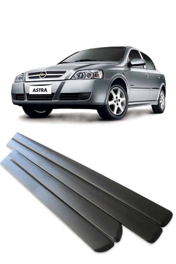 Friso Lateral Chevrolet Astra 4 portas 1999 até 2012  - Só Frisos Ltda