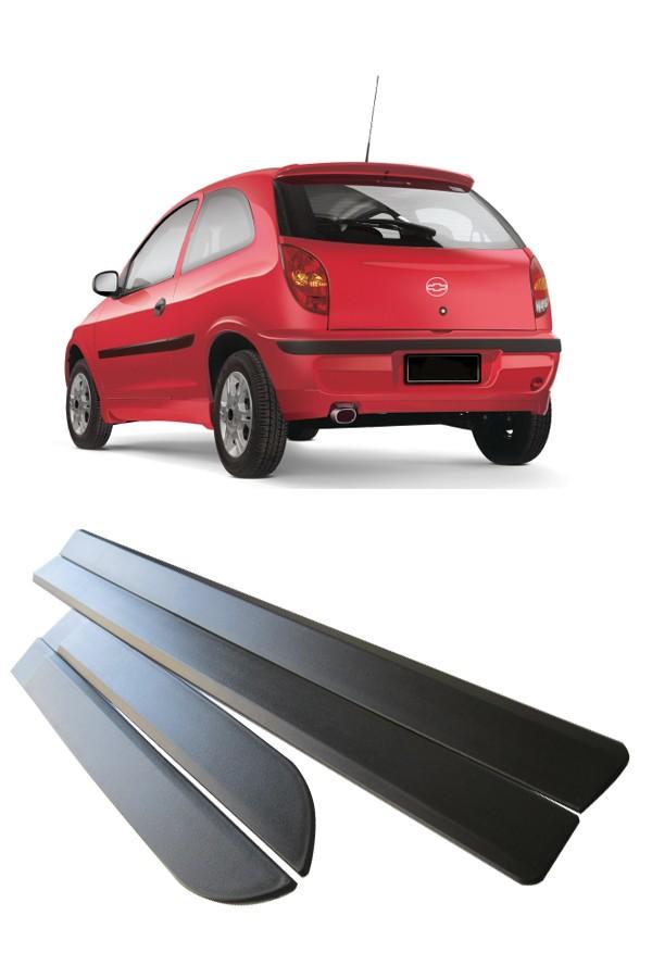Friso Lateral Chevrolet Celta 2000 até 2005 4 Portas