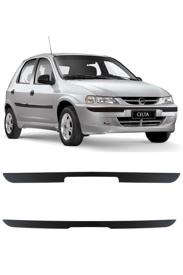 Friso Protetor de Para-Choque Chevrolet Celta 2000 até 2005