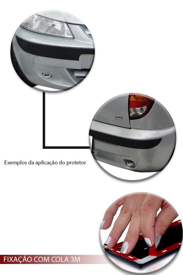 Friso Protetor de Para-Choque Chevrolet Celta 2000 até 2005  - Só Frisos Ltda