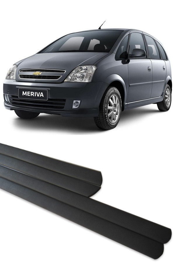 Friso Lateral Chevrolet Meriva  - Só Frisos Ltda