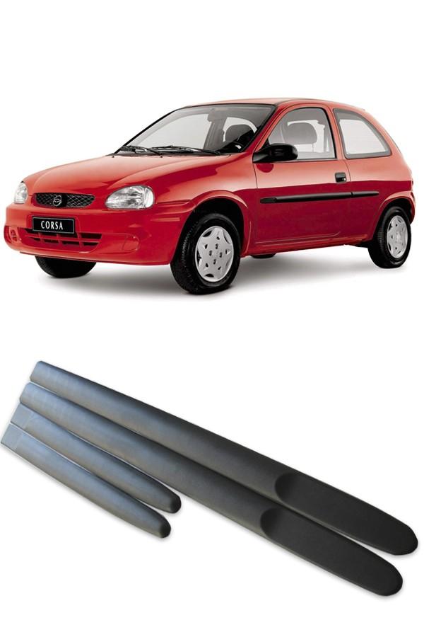 Friso Lateral Modelo largo Chevrolet Corsa 1995 até 1999 2 portas  - Só Frisos Ltda