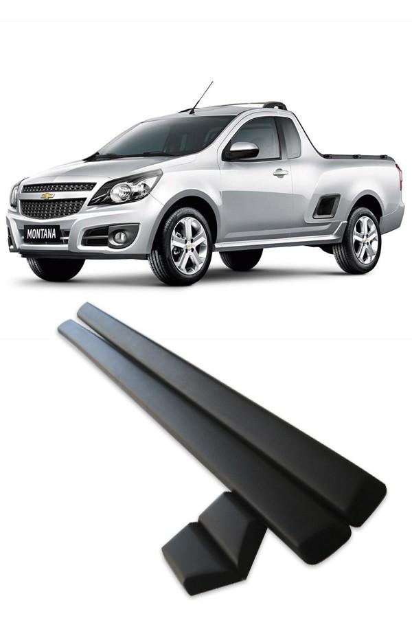 Friso Lateral Chevrolet Montana 2011 até 2017