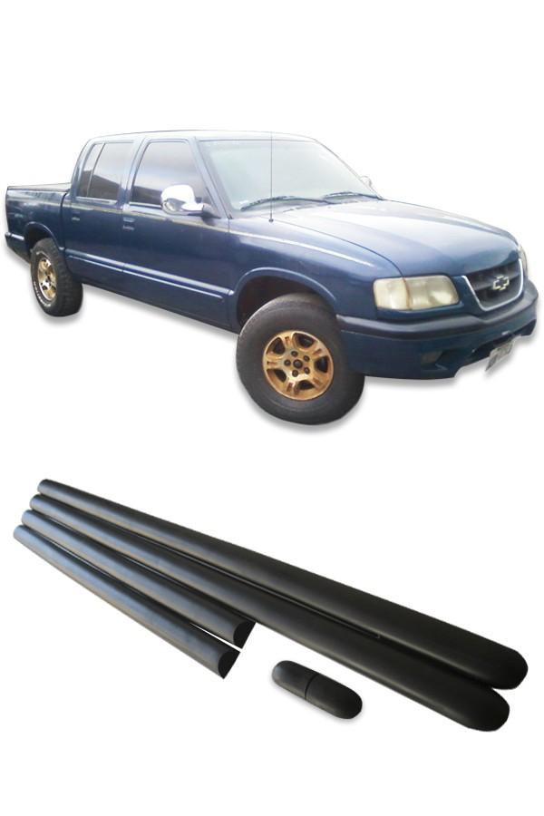 Friso Lateral Chevrolet S10 Cabine Dupla 1996 até 2000  - Só Frisos Ltda